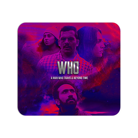 Who Movie Abstract Mouse Pad