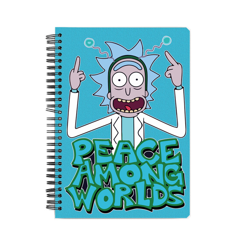 Rick and Morty: Peace Among World Notebook
