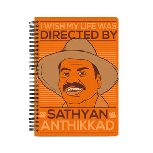 Sathyan Anthikadu Fan Boy Notebook