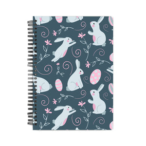 Rabbit Pattern Notebook