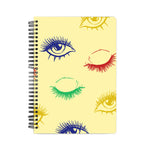 Eye Lashes Pattern Notebook