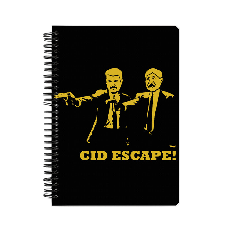 CID Escape Pulp Fiction Notebook