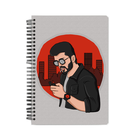 Ilayadalapathi Vijay Tribute Notebook