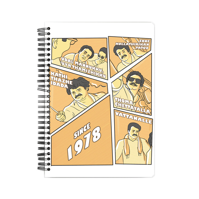Mohanlal Tribute Notebook
