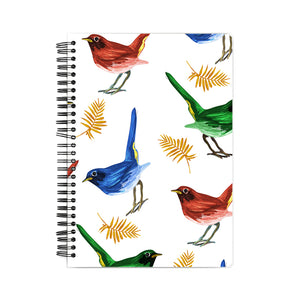 Bird Pattern Notebook