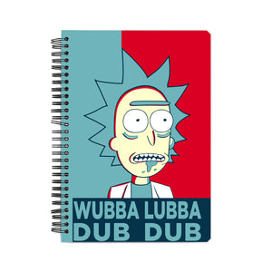 Rick and Morty Fan Notebook