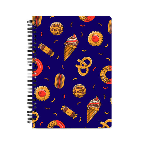 Candies & Ice Creams Pattern Notebook