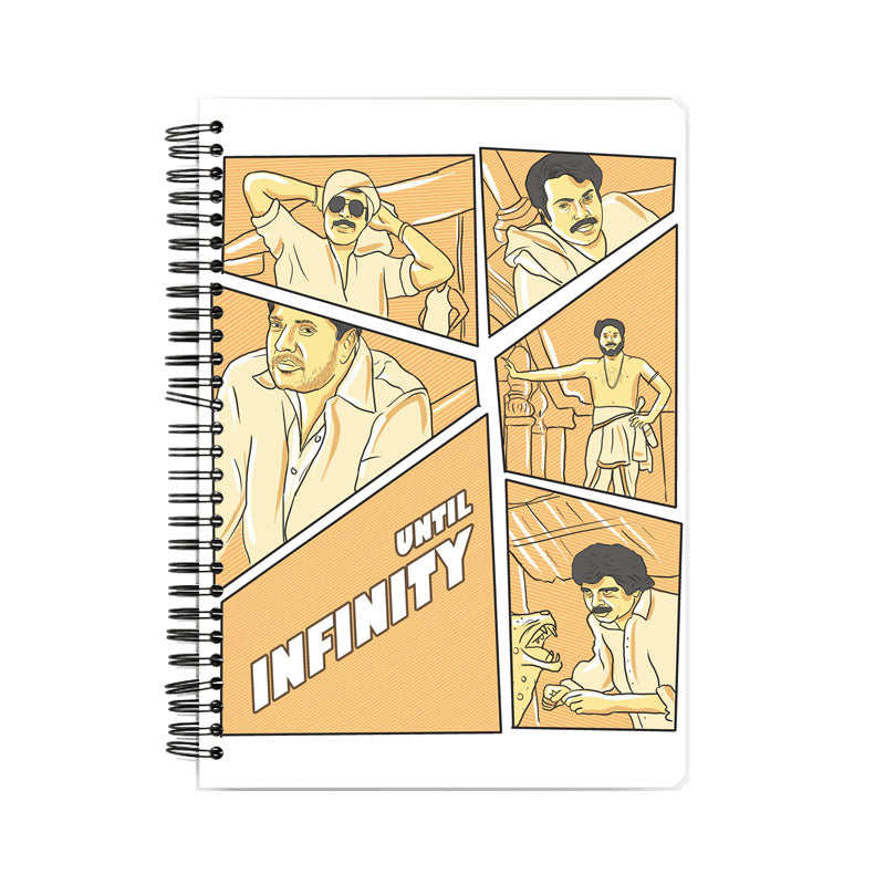 Mammootty Tribute Notebook