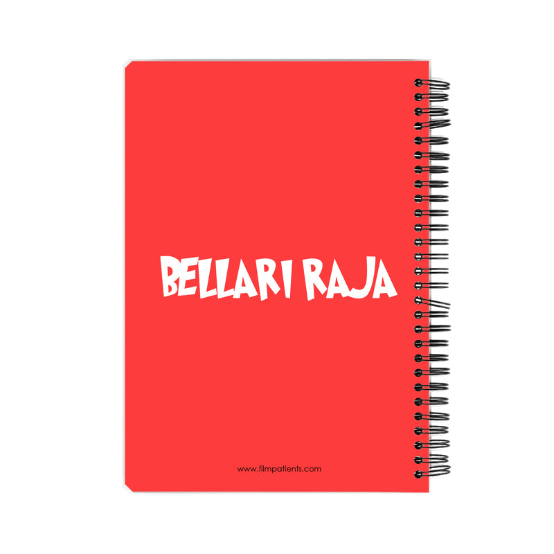 Bellari Raja Mammootty Notebook