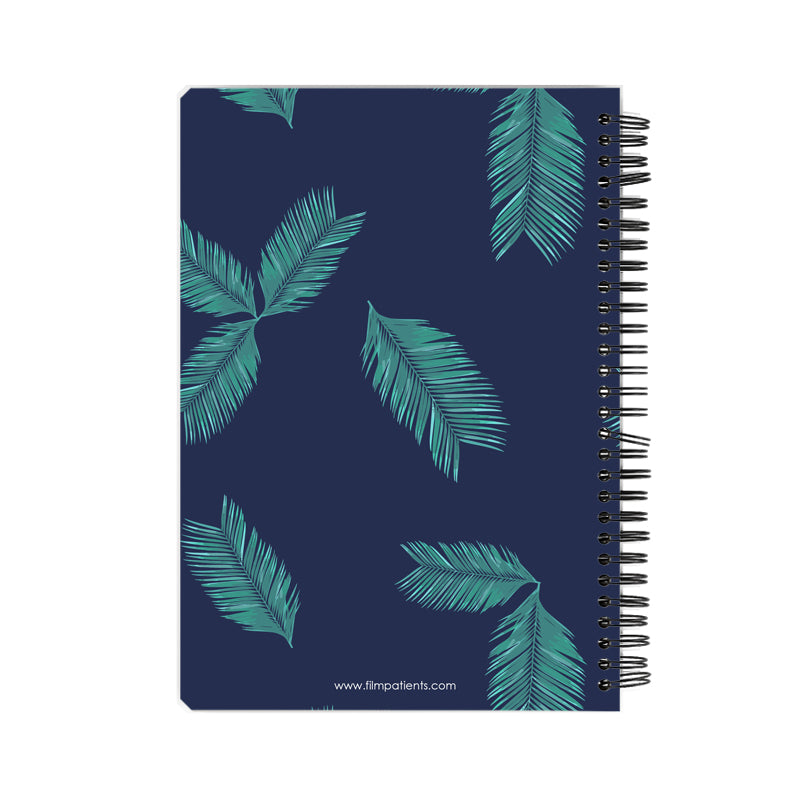 Leaves Pattern Notebook