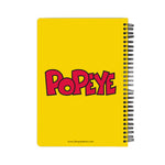 Popeye Goes Green Notebook