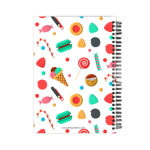 Candies and IceCreams Pattern Notebook