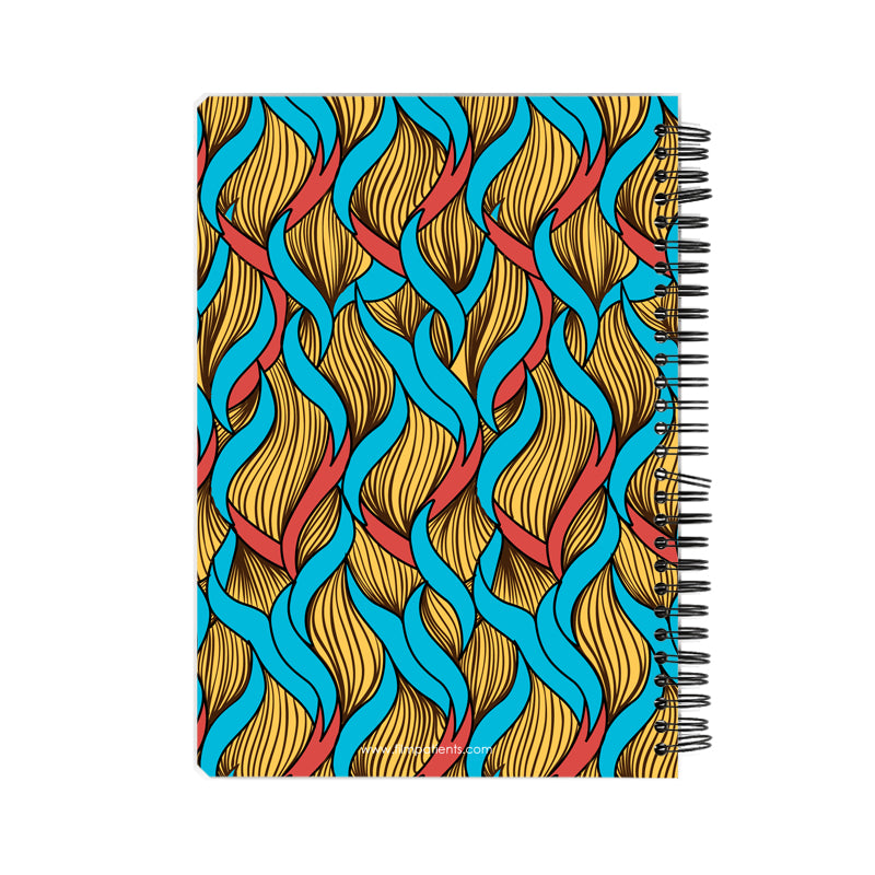 African Pattern Notebook