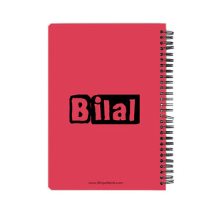 Bilal Big B Notebook