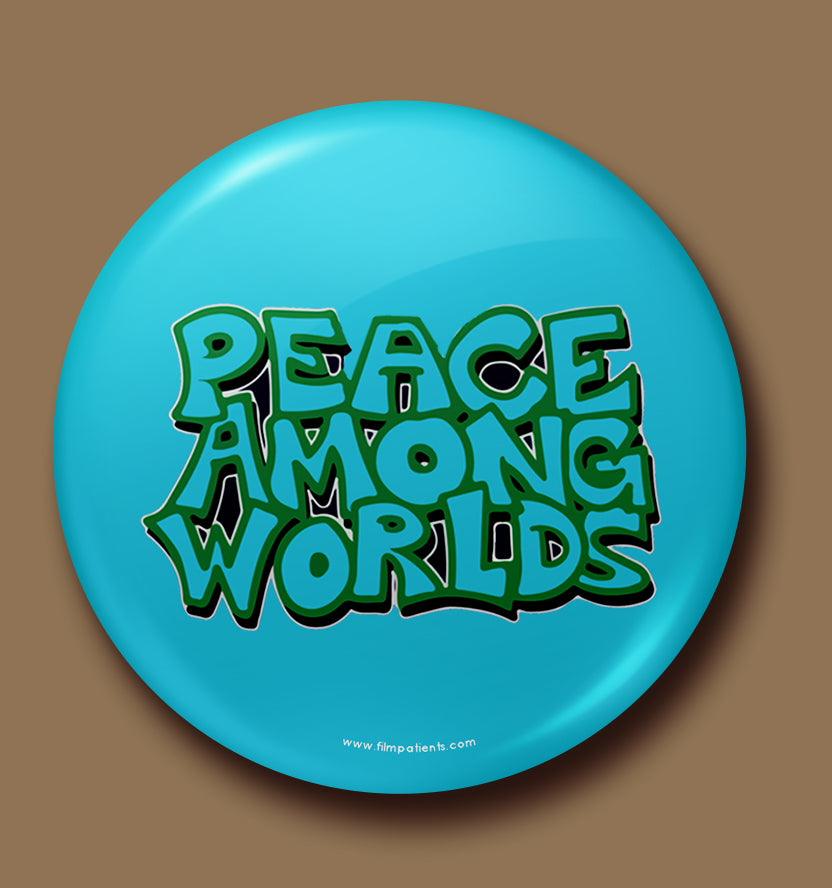 Peace Button Badge