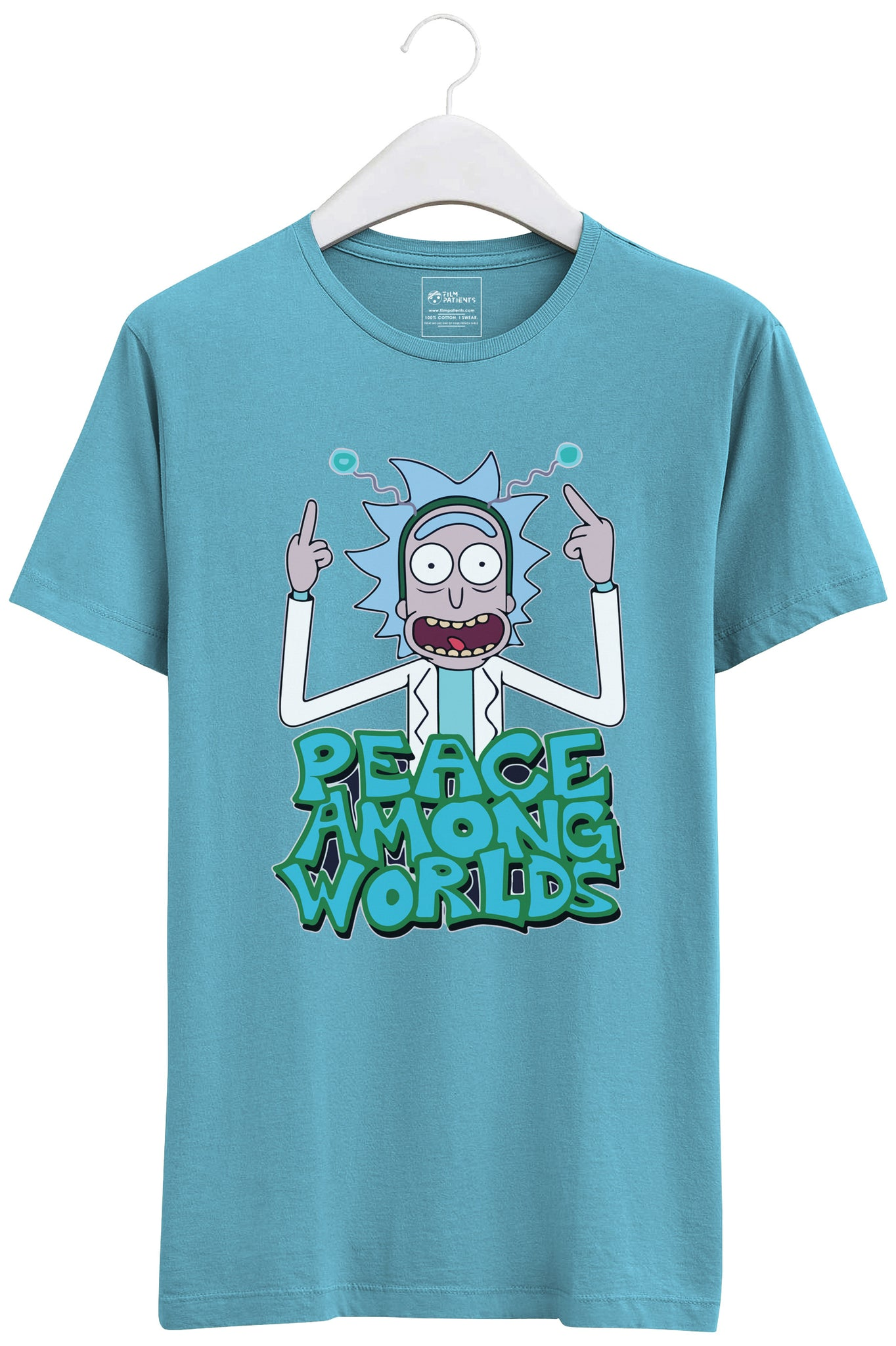 Peace Among Worlds : Rick and Morty Tshirt