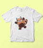 Red Panda Kids Tshirt
