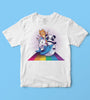 Rainbow Animal Kids Tshirt