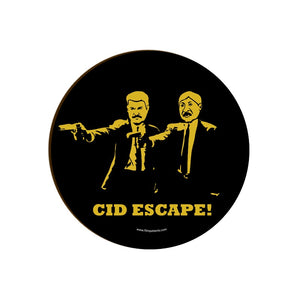 Cid Escape Pulp Fiction . Coaster