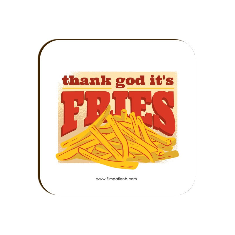 Fries Love Coaster
