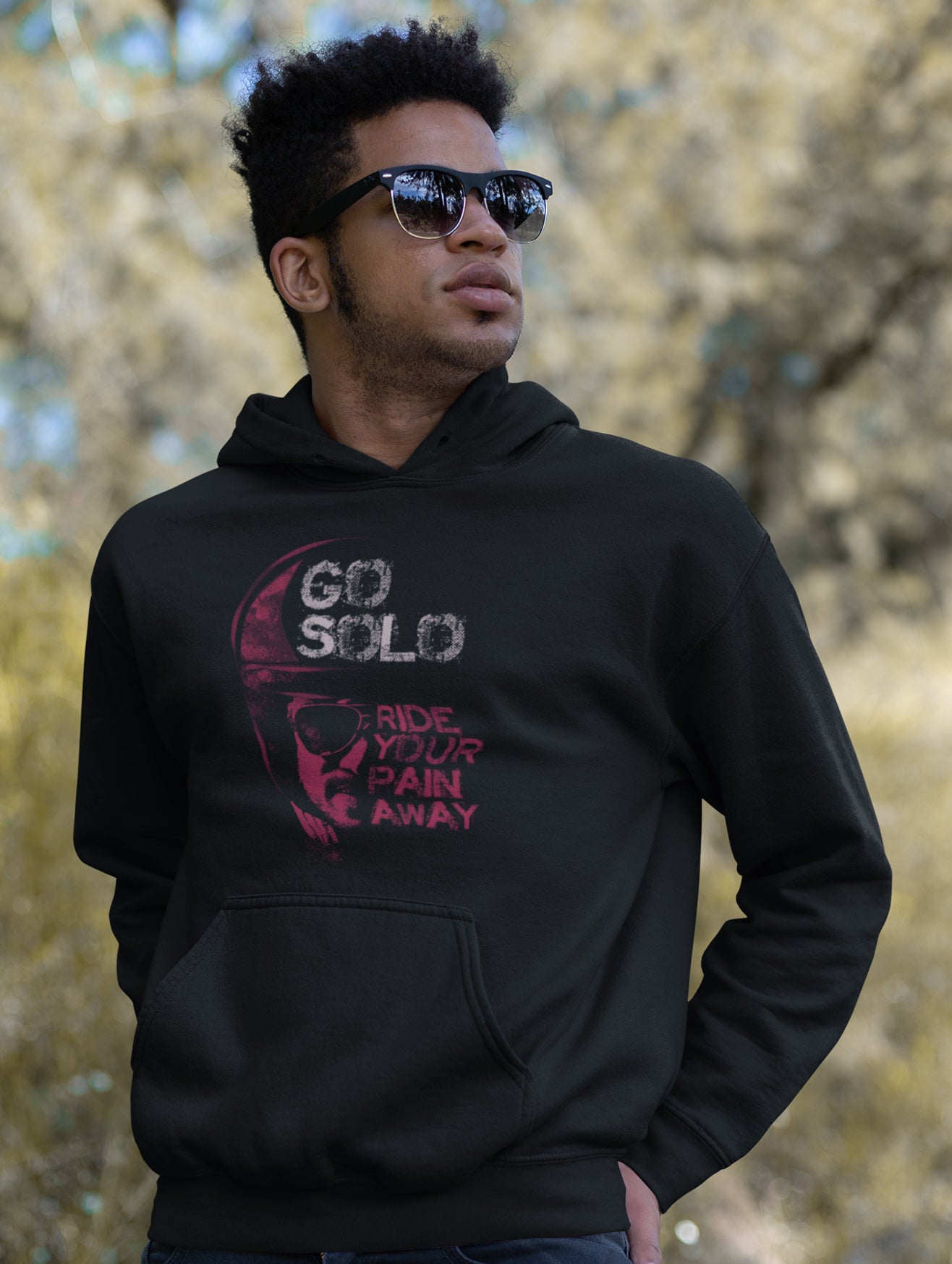 Go Solo Hoodie