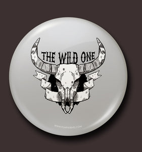 The Wild One Button Badge