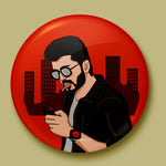 Vijay Sarkar Button Badge