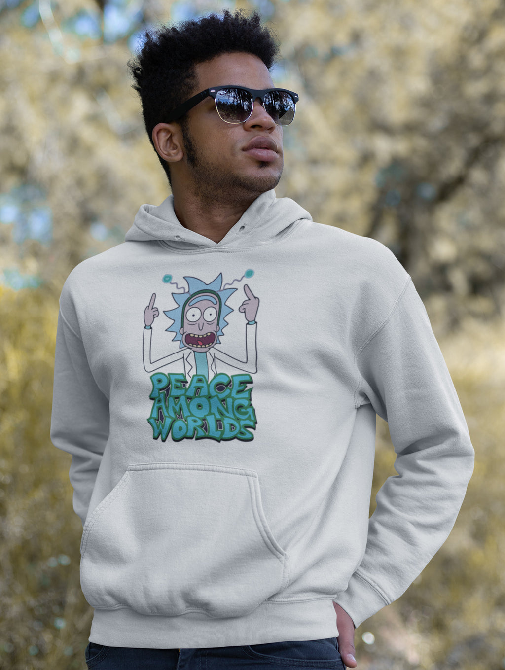 Peace Among World Hoodie