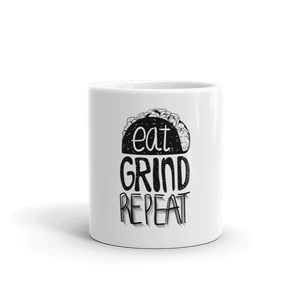 Eat Grind Repeat Coffee Mug