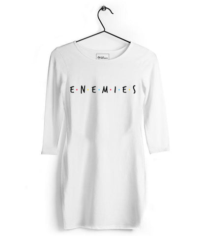 Friends : Enemies Tshirt Dress