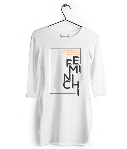 Feminichi Womens Tshirt Dress