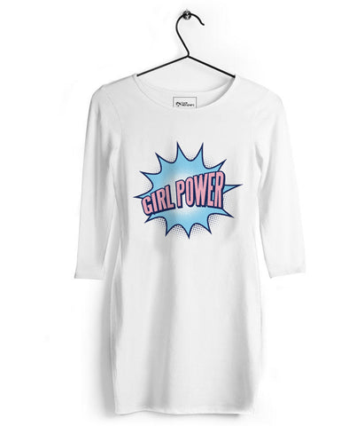 Girl Power Tshirt Dress