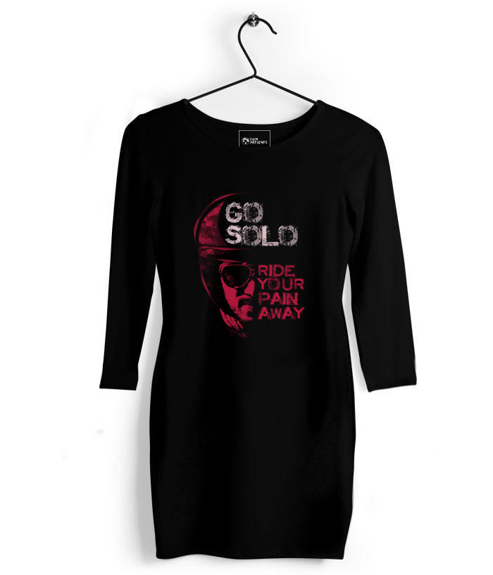 Go Solo - Dulquer Tshirt Dress