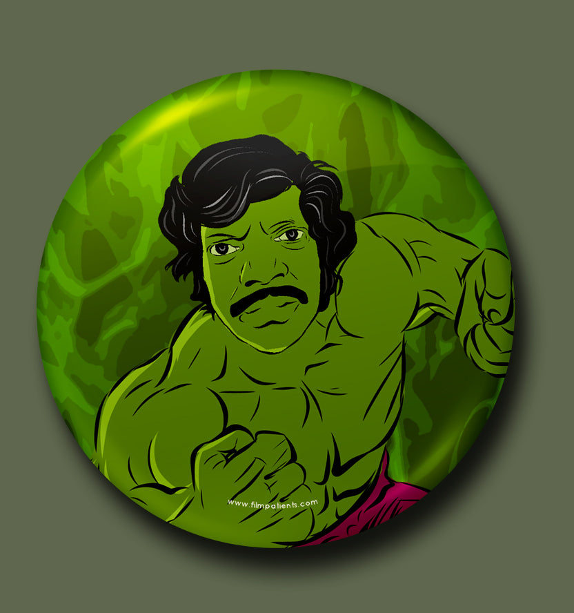 Hulk Chandran Button Badge