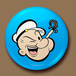 Popeye Button Badge