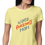 Worlds Best Mom Womens Tshirt