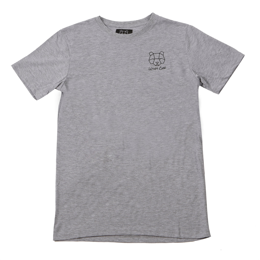 Mens grey urban streetwear t-shirt supreme hybeast christmas sale