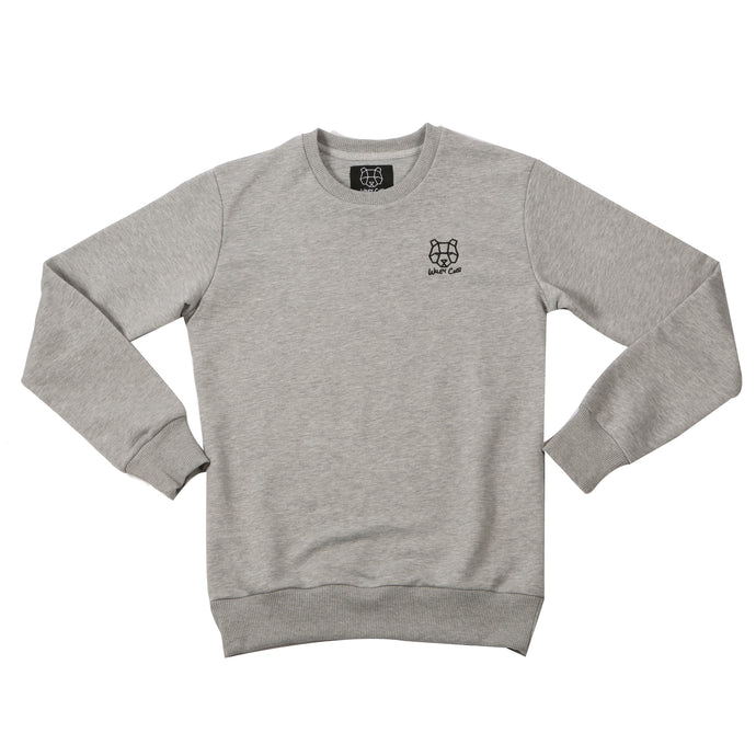 JD Sports grey sweatshirt bear cub jumper