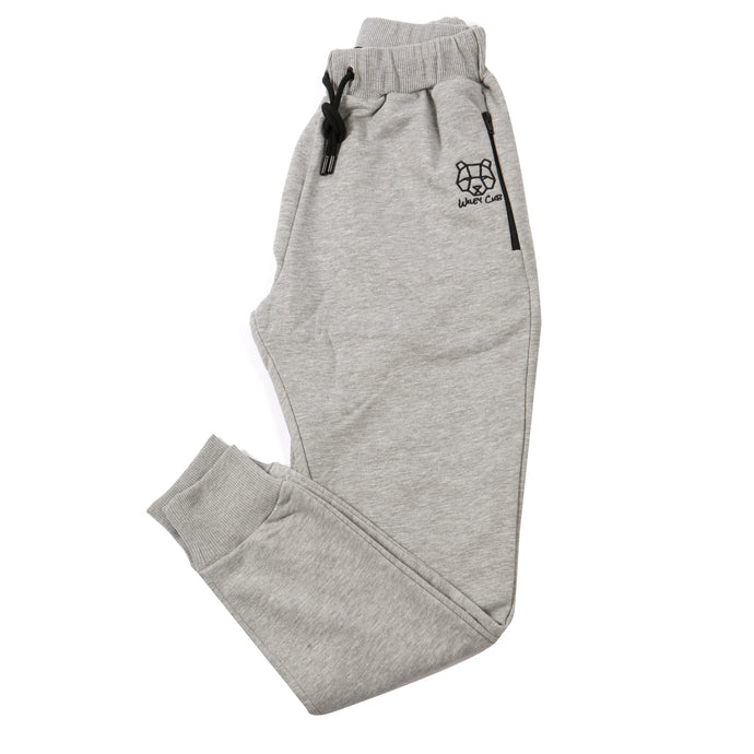 fitted grey tracksuit bottoms for men JD Sports