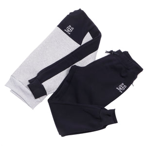 Navy and Grey Bear Cub Sweatshirt Jumper Tracksuit Bottoms Track pants Fleece Lined Wiley Cub