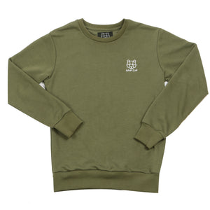 Childrens Khaki Sweatshirt bear cub JD Sports