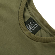 Khaki Sweatshirt for Men Urban Streetwear