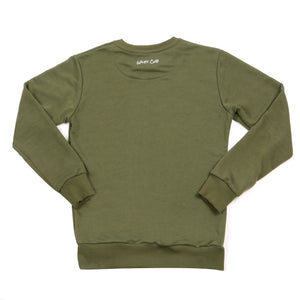 Kids Khaki Sweatshirt Matching Dad and Sons Jumpers