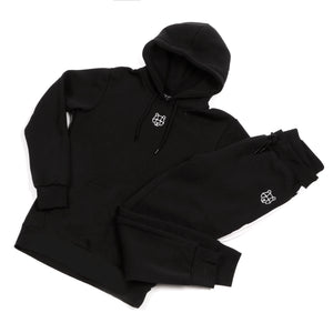 Childrens black bear cub hoodie tracksuit