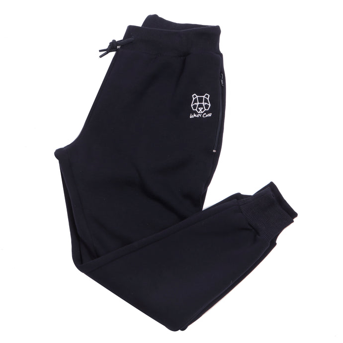 Kids navy tracksuit bottoms cheap
