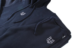 Storm Collection Fleece Lined Hoodie in Navy (Juniors)