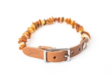Light Brown Belt Collar