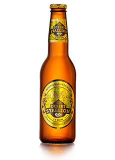 Desert Stallion Lemon 330ML Non Alcoholic Beverage