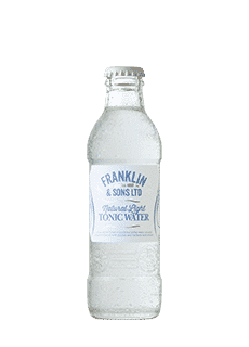 Franklin & Sons Natural Light Tonic Water 200 Ml Tonics & Mixers