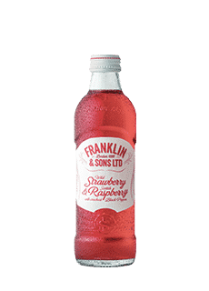 Franklin & Sons Strawberry And Raspberry 275 Ml Soft Drinks